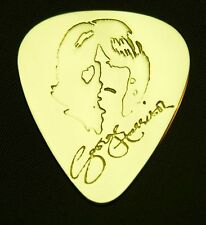 GEORGE HARRISON - Solid Brass Guitar Pick... Martin, Fender, Gibson