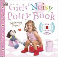 Girls' Noisy Potty Book, Hardcover by Davis, Sarah; Harvey, Victoria (ILT); B...