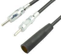 KFZ Antenne Adapter Verteiler Splitter DIN 2x Stecker 1x Buchse Auto Radio
