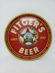 Fitgers Beer Tray 1930s Duluth MN