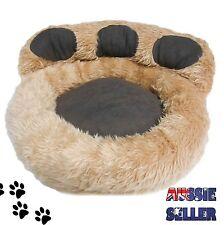PET BED - Dog Cat Micro Plush Suede Paw Mattress Mat Pad Warm Comfy Soft 55x46cm