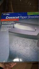 Royal Crosscut Paper Shredder Ht 500x New