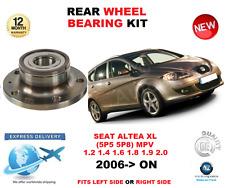 para SEAT ALTEA XL Cojinete de rueda trasera 2006>En Adelante 5p5 5p8 MPV