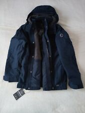 Mens Abercrombie & Fitch Water Resistant Fleece Quilted Hoodie Jacket Size XL