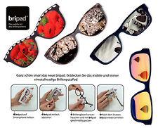 "Microfibra Brillenputzpad ""Bripad"" Paño Gafas Handy-Putztuch Autoadhesivo"