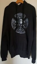 Authentic ODM Premium Goods Mens 2XL Sweatshirt Pullover Hoodie Skulls Gray