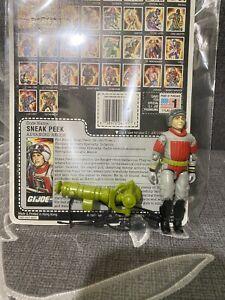 1987 GI Joe SNEAK PEEK v1 Advanced Recon GI JOE Vintage Hasbro See Pictures
