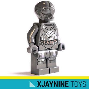 GENUINE LEGO STAR CLONE WARS RA-7 Grey Protocol Droid Minifig NEW