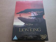 The Lion King Trilogy (DVD 5 DISC Box Set)NEW AND SEALED DISNEY VERY RARE REG 2