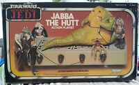 VINTAGE STAR WARS 1983 ROTJ JABBA THE HUTT PLAYSET 100% COMPLETE MIB BOXED