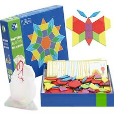 Wooden Pattern Blocks And Boards - Classic Toys - Colors Kit  LG