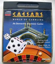 JEU CD-I PHILIPS - CAESARS WORLD OF GAMBLING