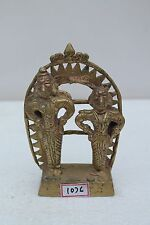 Antique Indian Tribal Folk Indian God Goddess Figurine Statue Rich Patina NH1076