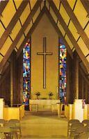 KLAMATH FALLS OREGON HOPE LUTHERAN CHURCH~EDIFICE VIEW POSTCARD c1965