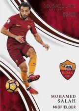 2017 PANINI IMMACULATE SOCCER Mo Salah Roma Egypt Bronze Base SP Card /25