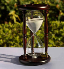 Wood Sand Hourglass Timer Meter Clock 60 minutes Sand Timer Sandglass Sand glass