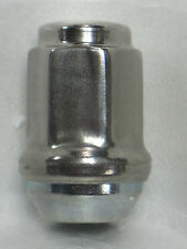 *25* 1/2-20 Stainless Steel Capped Bulge Acorn Lug Nuts trailer wheel