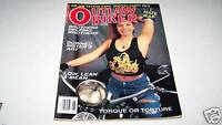 JUNE 1993 OUTLAW BIKER motorcycle magazine