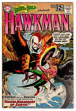 BRAVE AND THE BOLD #43 4.5 OFF-WHITE TO WHITE PAGES SILVER AGE HAWKMAN