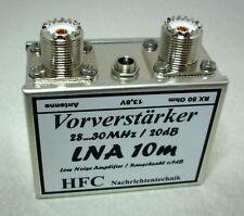 LNA-10m Vorverstärker 28...30 MHz / Weißblechgehäuse (4925)