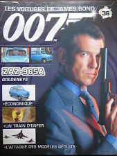 FASCICULE 36 JAMES BOND / POSTER ZAZ 965A / GOLDENEYE