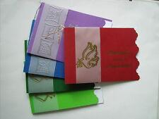 Einladungskarten KOMMUNION Taufe JUGENDWEIHE Firmung