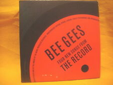 cardsleeve single CD BEEGEES Four New Songs From The Record 4 TR 2001 pop