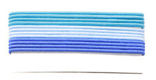 Sublime Shores-Ocean Inspired 12 Pack /good Quality Blue Hair Bands(Zx145)
