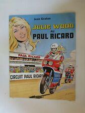 Julie Wood au Paul Ricard - Graton - Edition publicitaire de 1980