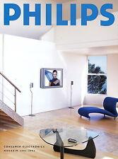 Philips Katalog 2002 2003 Consumer Electronics TV PC Home Entertainment Telefon