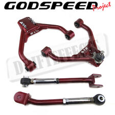 Godspeed Adjustable Front Upper + Rear Camber Kit For 2008-13 G37 Coupe/Sedan