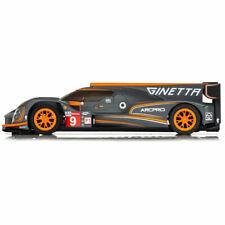 SCALEXTRIC Slot Car Ginetta G60-LT-P1 LMP Orange Car No.9