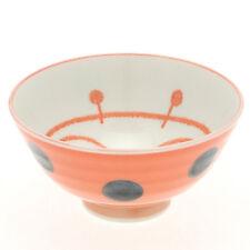 """1x Japanese 4""""Red Ladybug Rice Bowl #130-552"""