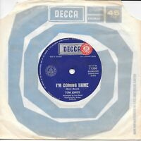 "TOM JONES - I'M COMING HOME - RARE 7"" 45 SAMPLE VINYL RECORD - 1967"