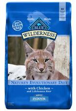 Blue Buffalo Blue Wilderness Adult Indoor Chicken Recipe Dry Cat Food 11 lbs