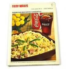 Coca Cola Coke Recettes de cuisine Recette Bloc Cartes USA 1970 Nr 1 Z Cocotte