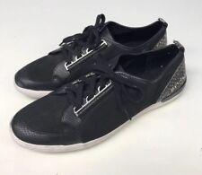 Calvin Klein Tanita Womens Athletic Casual Sneaker Shoes Size 10 Black