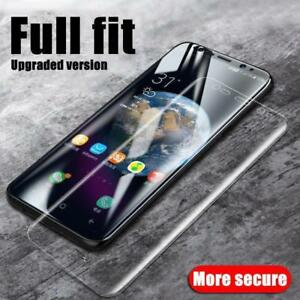 9D Full Tempered Glass Film For Samsung Galaxy S20 S10 S9 Plus Note 20 S21 Ultra