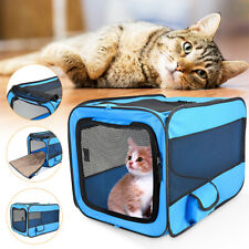 Pet Dog Cat Portable Tent Cage Folding Kennel Puppy Playpen House Bed Fence