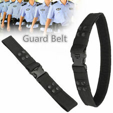 Heavy Duty Security Guard Police Utility Nylon Quick Release Belt Waistband