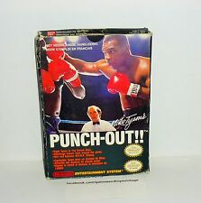 JEU NINTENDO NES PUNCH OUT MICK TYSON'S