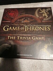Game of Thrones: The Trivia Game Never played