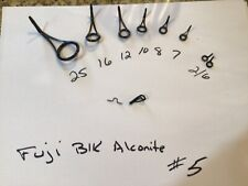 Fuji black Aconite spinning Guides #5