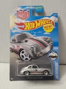 2016 Hot Wheels Porsche #120 Target Exclusive Sunshine Card (Gray)