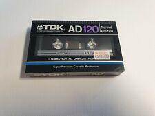 TDK AD 120 Cassette Tape Set (Sealed)