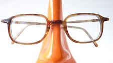 Brille braun Herrenfassung kleine Gläser ausgefallen Gestell Kunststoff Gr S