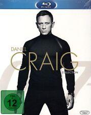 CASINO ROYALE + EIN QUANTUM TROST + SKYFALL + SPECTRE (4 Blu-ray Discs) NEU+OVP