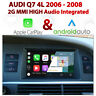 AUDI Q7 2006 - 08 2G MMI Touch Overlay Apple CarPlay & Android Auto Integration