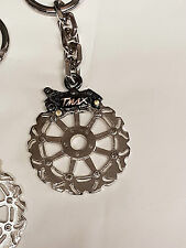 Tmax portachiavi artigianale disco freno silver e pinza Black metallo nikelato