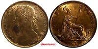 Great Britain Victoria (1837-1901) Bronze 1891 1 Penny KM# 755